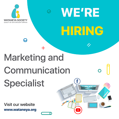 Marketing and Communication Specialist